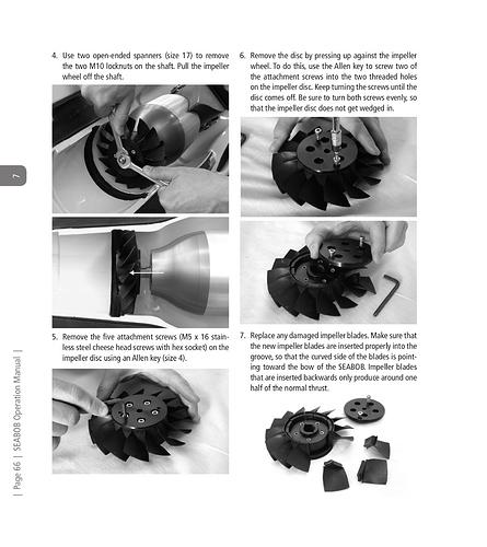 Seabob F5 Operations Manual-66