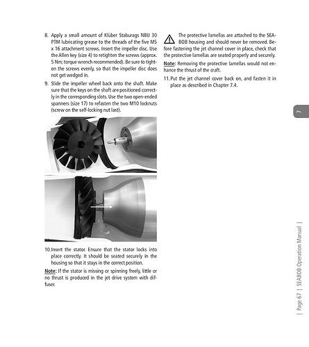 Seabob F5 Operations Manual-67