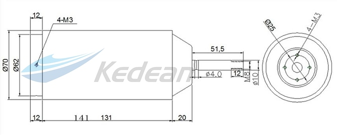 15KW-70141-Fully-Waterproof-Brushless-Motor-Make-thruster-for-Efoil-Hydrofoil-propeller