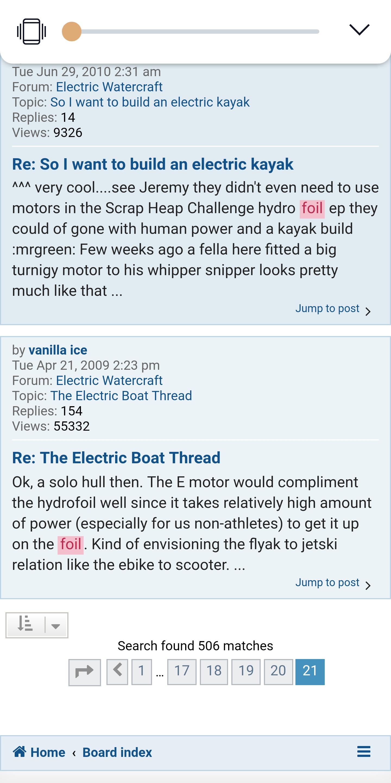 Diggler/Killer build - Builds - Electric Hydrofoil Builders