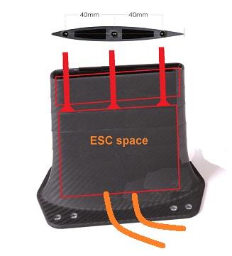 ESC mast extension 03m
