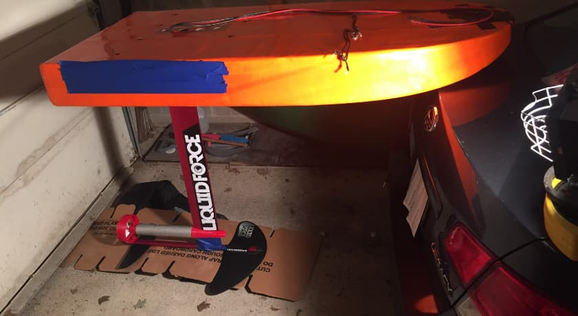 Board In Garage 2